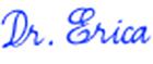 Dr Erica Goodstone Signature